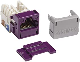 Commscope/Systimax GigaSpeed Cat6 Modular Jack, Violet (Alternate P/N 700206675) MGS400-361