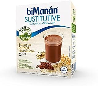 BIMANAN Sustitutive Batido Quinoa Trigo Sarraceno Cacao 5