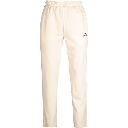 Slazenger Mens Cricket Trousers Pants Bottoms Elasticated Waist Drawstring