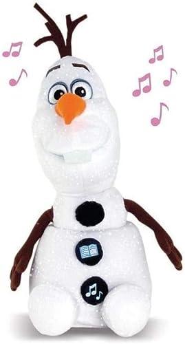 IMC Toys - Contes et Chansons Olaf, peluche interactive - Reine des Neiges - 17016 - Disney