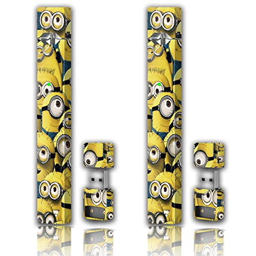 Skin Vinyl Sticker Decal and Charger Skin (2 Pack) - Minions