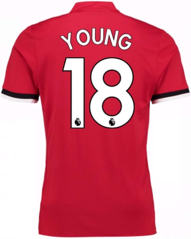 72d95c1a3b8 2017-2018 Man United Home (Ashley Young 18) - Kids Shirt nofrrt3607 ...