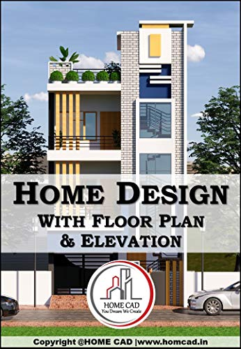 3D House Design: 15 Houses With Floor Plan and Elevation (English Edition)