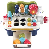 OR OR TU Multifunctional Musical Learning Construction Workbench Toys