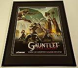 Gauntlet Seven Sorrows 2005 PS2 XBox Framed 11x14 ORIGINAL Advertisement