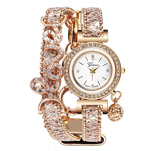 Womens Geneva Quartz Watches Unique Analog Ladies Wrist Watch Female...