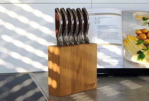 Messerblock für Steakmesser oder Küchenmesser von Laguiole en Aubrac