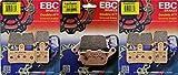 EBC Pastillas de Freno Delantero y Trasero HH Set–Yamaha YZF-R1–2007–2014_ FA442/4hh|fa174hh