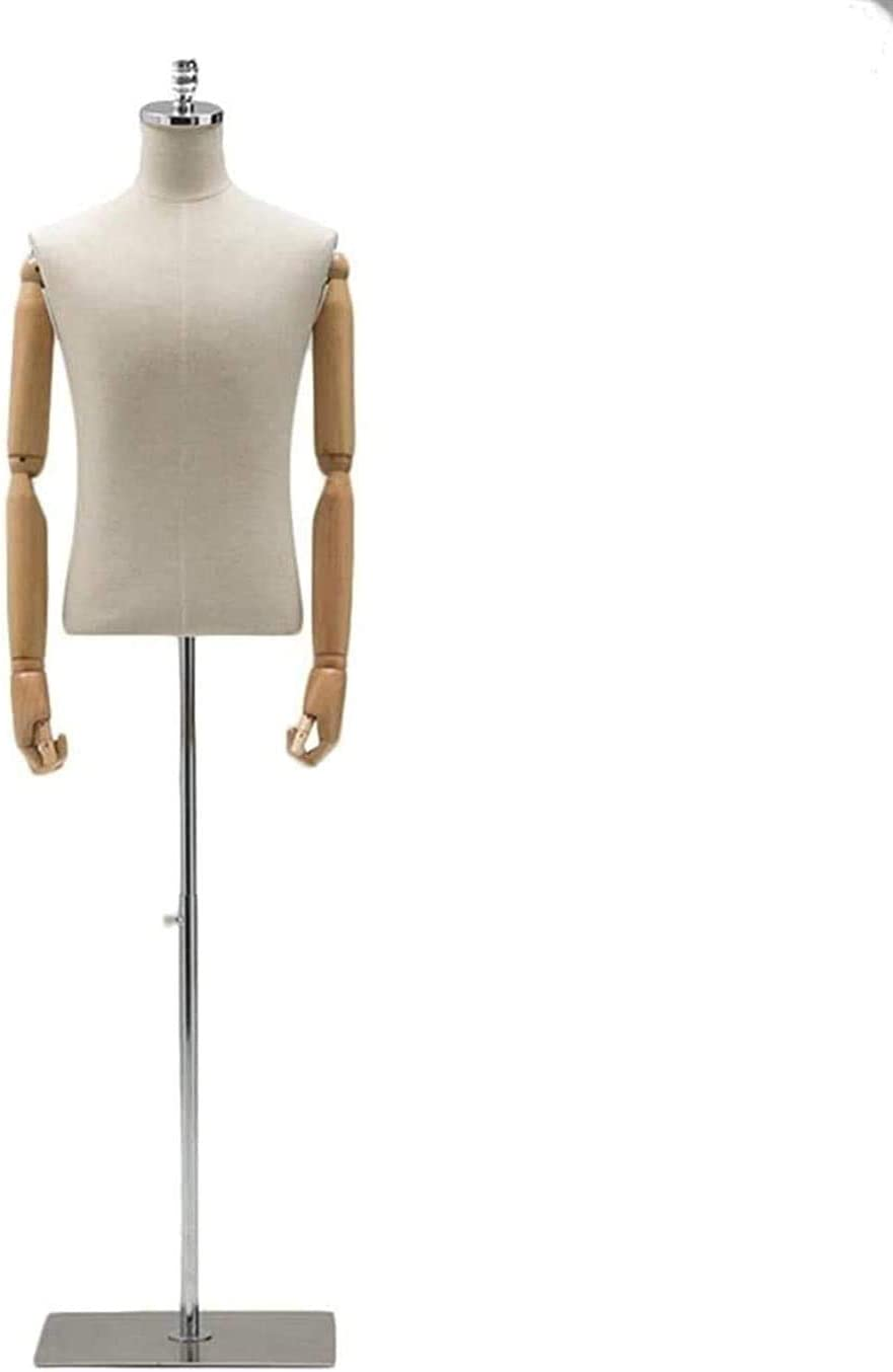 YUXO Dress Form Mannequin Super-cheap Sewing Tailor Very popular Bust Torso Manne Showing