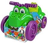 Mega Bloks Cocodrilo monta y zampa, juguete bloques de construcción para niños...