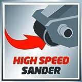 Einhell Bandschleifer TC-BS 8038 (800 W, 76x142 mm Schleiffläche, 380 min.-1 keramische Schutz-Einlage, Zusatzhandgriff, integrierte Staubabsaugung, inkl. Schleifband) - 5