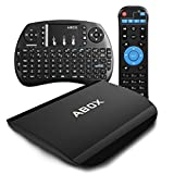[Gratuito Mini Tastiera] 2017 Modello ABOX A3 Android 6.0 TV Box...