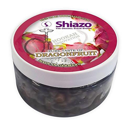 Shiazo 100gr, Dampfsteine Steam Stones für Shisha und Shisha mit 40Aromen und Düfte wählbar Fruit du dragon