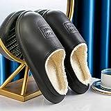 Zapatillas Casa Hombre Mujer Zapatillas Sin Cordones para Mujer, Zapatos De Mujer, Zapatos Cortos De Felpa con Suela Suave, Calzado Interior Cómodo, Informal, para Mujer, Mantener El Calor, Talón