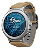 Bruni Schutzfolie kompatibel mit LG Watch Style Folie, glasklare Bildschirmschutzfolie (2X)