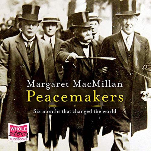 Peacemakers audiobook cover art