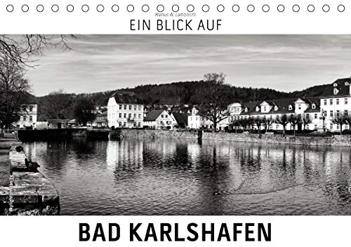 Ein Blick auf Bad Karlshafen (Tischkalender 2021 DIN A5 quer)