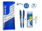 Pilot – flowpack 2 Penne Frixion Ball, 1 set di 6 Refill & 1 Frixion Remover – ...
