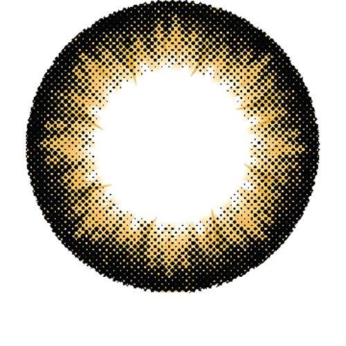 Matlens - Pro Trend Farbige Kontaktlinsen ohne Stärke gelb yellow Big eyes Apollo NPX-A02 2 Linsen 1 Kontaktlinsenbehälter 1 Pflegemittel 50ml