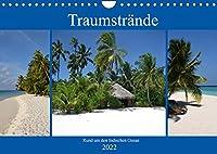 Traumstraende rund um den Indischen Ozean (Wandkalender 2022 DIN A4 quer): Traumhafte Orte um dem hektischen Alltag zu entfliehen (Monatskalender, 14 Seiten )