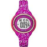 Timex Women's TW5M03000 Ironman Sleek 50 Pink Floral Silicone Strap Watch