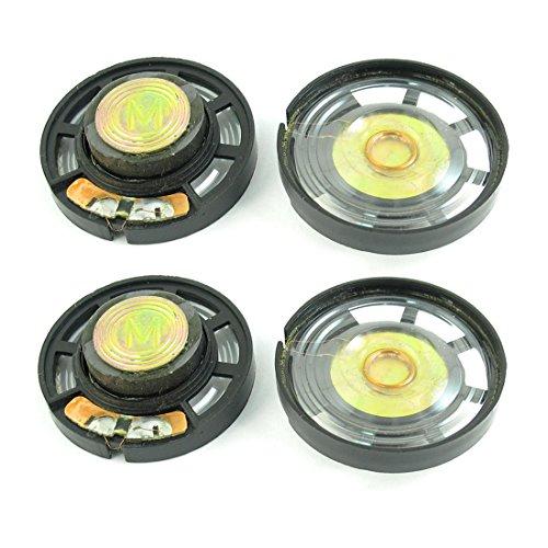 Sourcingmap® 4pcs Altavoz magnético Altavoces Juguete