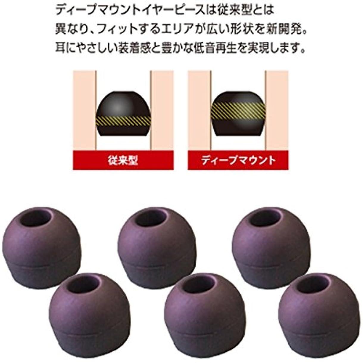 インフルエンザ退却実験的イヤーピース deep mount earpiece 単品(S) HP-DME03K