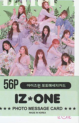 K-POP Group 2019 New Photo Message Card 56pcs set (Postcard / 56sheets) (IZONE)