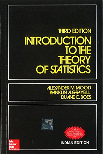 Introduction to the Theory of Statistics