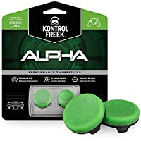 KontrolFreek Alpha for Xbox One Controller   Performance Thumbsticks   2 Low-Rise Concave   Green