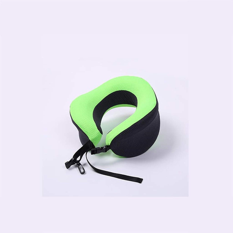 DYHOZZ UShaped Memory Foam Pillow, Head and Neck Support Travel Pillow Multicolor Optional 25cm × 26cm × 12cm UShaped Pillow (color   C)