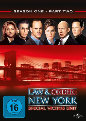 Law & Order: New York - Special Victims Unit, Staffel 1/Teil 2 (3 DVDs)