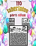 110 laberintos para niños: Mi Libro de Juegos Laberintos: A partir de 4 años: 110 laberintos para niños intelectuales! Varias formas y niveles - ... ... DE GRAN FORMATO - Cuaderno de vacaciones