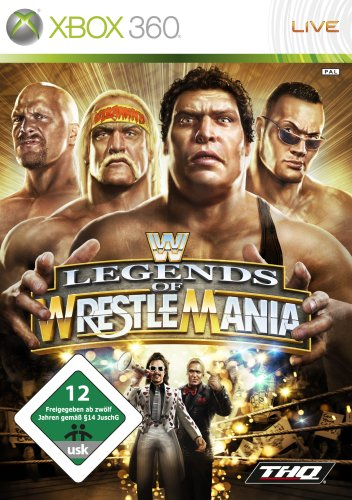 THQ  WWE Legends of WrestleMania