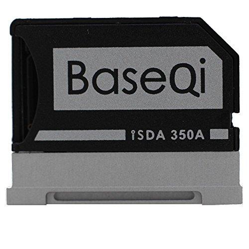 "BASEQI Aluminum MicroSD Adapter for Microsoft Surface Book & Surface Book 2 (Surface Book & Surface Book 2 13.5"" (model-350A))"
