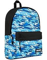 Fortnite Rugzak voor jongens, kinderen schooltas, camouflage-tassen voor meisjes, jongens, tieners volwassenen, kinderrugzak met Fortnite Llama, officiële Fortnite Merchandise cadeaus voor gamers