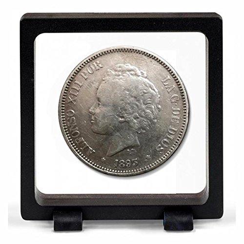 IMPACTO COLECCIONABLES Monedas Antiguas - España 5 Pesetas de Plata 1892/94. Alfonso...