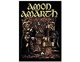 NNG Amon Amarth - Thor - Textile Poster Flag