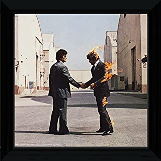 PopArtUK Pink Floyd Wish You were Here Framed Album Cover
