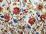 The_Curtain_Shop Braddock Jacobean Thermal Damask Pinch Pleat Drape Pair 48Wx63L