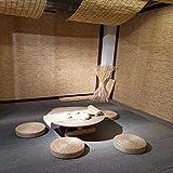 Natürlicher Reed-Vorhang im Rustikalen Stil, Bambusvorhänge mit Lifter, Wasserdichter...