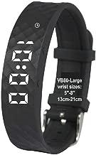 eSeasongear VB80 Vibrating Alarm Watch, Silent Vibration Shake Wake ADHD Medication Reminder