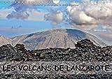 Les volcans de Lanzarote: Des champs de lave, des cratères, des pierres basaltiques, des bombes volcaniques et des plantes 'vertes' pour décorer cette ... mural A4 horizontal (Calvendo Places)