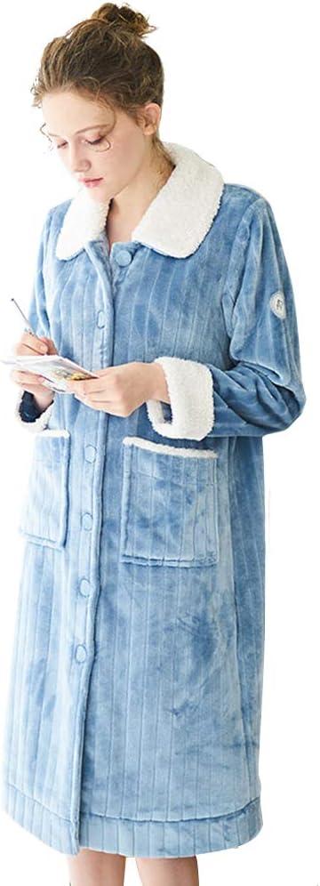 Super Soft Mesa Mall Elegant Warm Women's Fla Mid-Length Nightdress Sweet Max 56% OFF