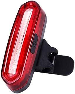 Andifany allaperto Biciclette COB Impermeabile 3 USB LED Ricaricabile 4 Modalita Notte della Bici rideFront Lampada Frontale e Posteriore Fanale