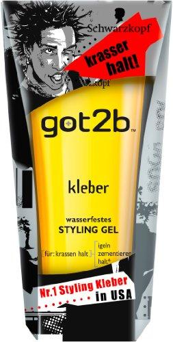 Schwarzkopf Got2b Gel Kleber, 1er Pack (1 x 150 ml)