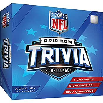 MasterPieces NFL League Trivia Game One Size