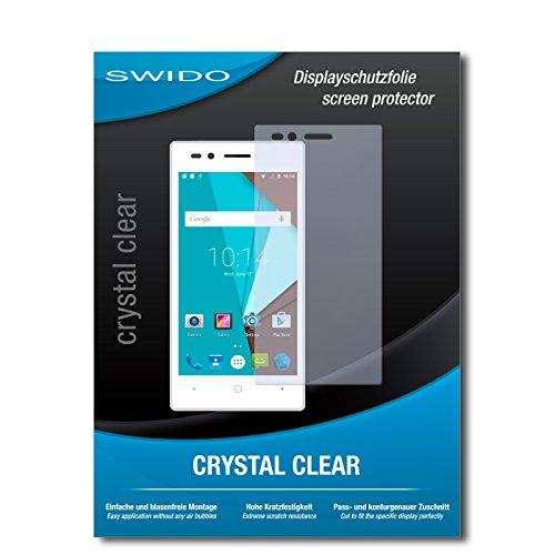 SWIDO Bildschirmschutz für Siswoo A4+ [4 Stück] Kristall-Klar, Hoher Festigkeitgrad, Schutz vor Öl, Staub & Kratzer/Schutzfolie, Bildschirmschutzfolie, Panzerglas Folie