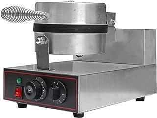 Elektrisk Våffelmakningsmaskin Kommersiell Belgisk Våffelmakare Temperatur- Och Tidskontroll Crepe Pannkaka Omlette Maker