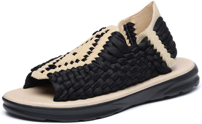 GJLIANGXIE Men'S Sandals Summer Men'S Outdoor Leisure Travel Beach shoes Light And Comfortable Wear Sandals Beach Sandals shoes